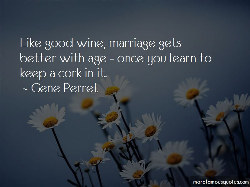 Marriage Like Wine Quotes