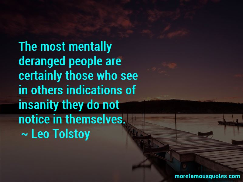 Mentally Deranged Quotes