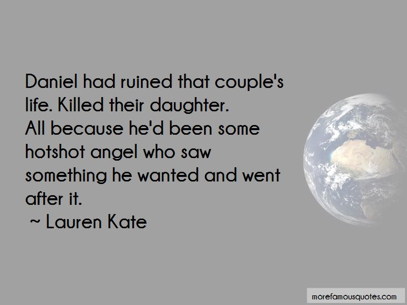My Angel Daughter Quotes