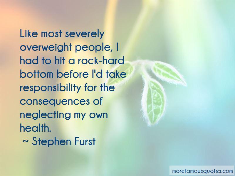 Neglecting Responsibility Quotes