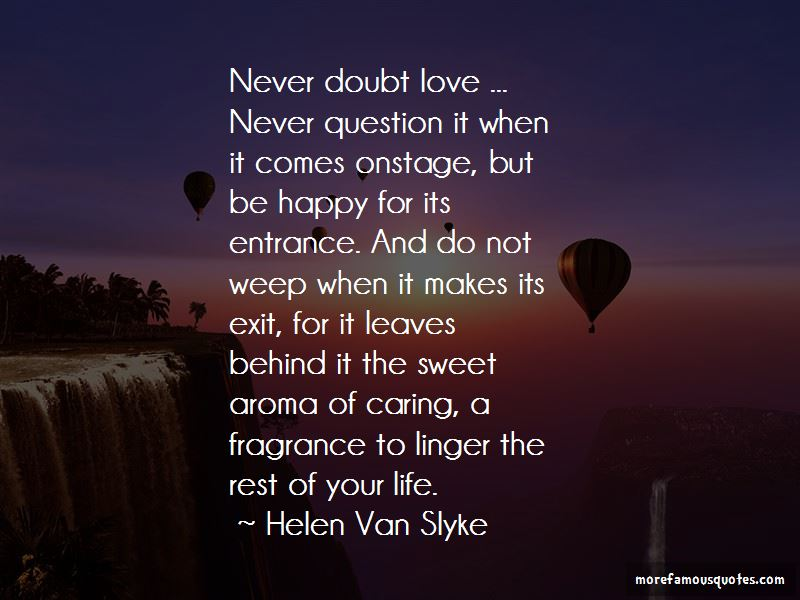 Never Doubt Love Quotes Pictures 2
