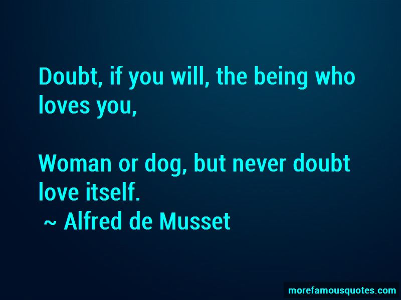 Never Doubt Love Quotes