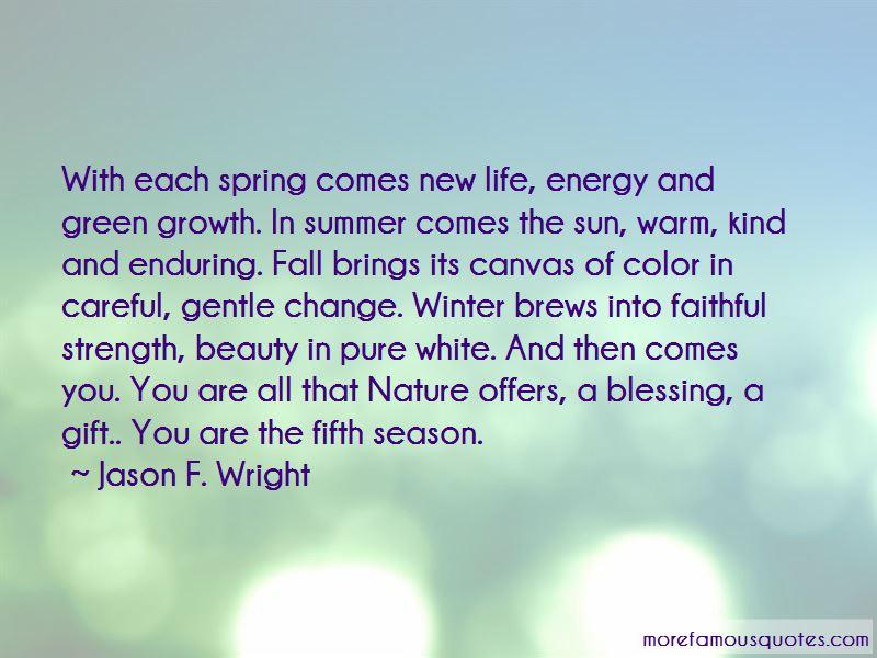New Season Spring Quotes