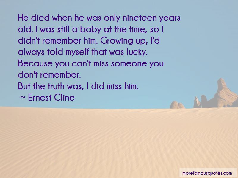 Nineteen Years Old Quotes