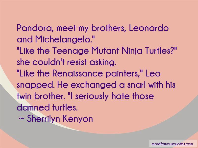 Ninja Turtles Leonardo Quotes Pictures 3