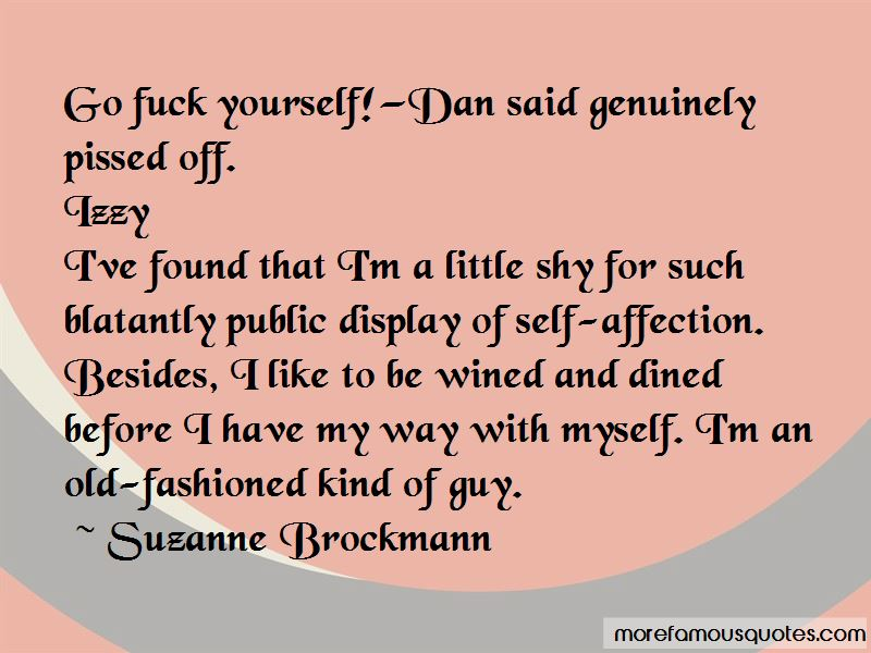 No Public Display Of Affection Quotes