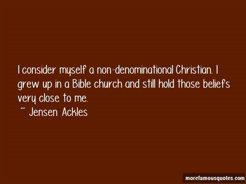 non denomination
