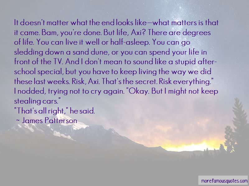 Not To Cry Quotes