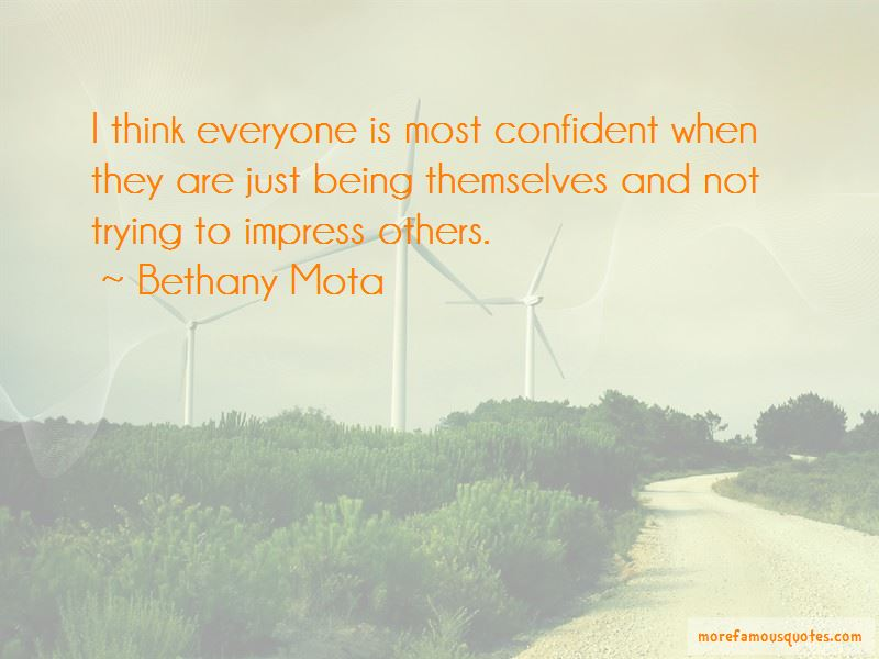 Not To Impress Others Quotes Pictures 4