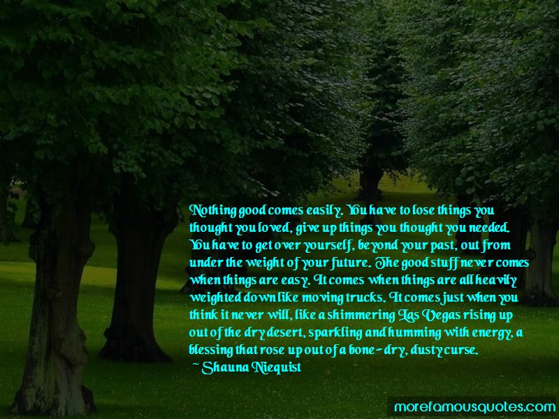 Nothing Is Easy To Get Quotes Pictures 2