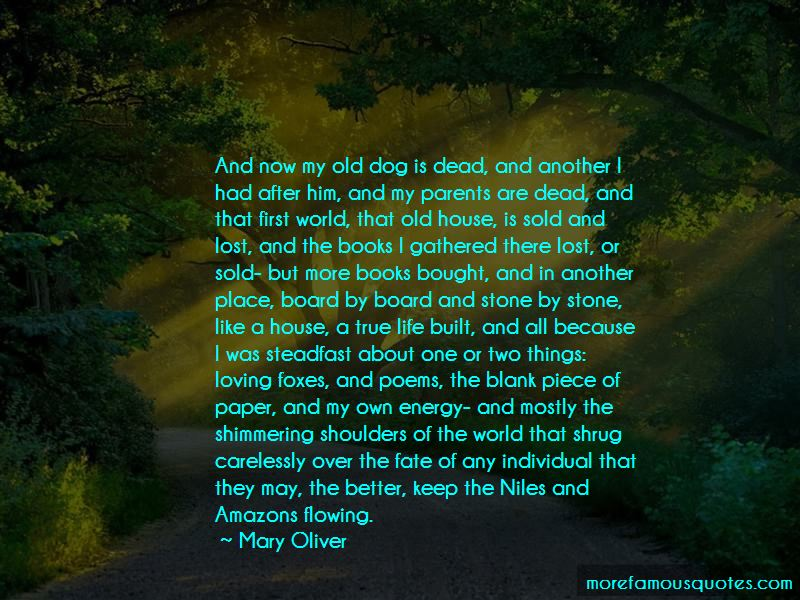 Old Dog Poems Quotes
