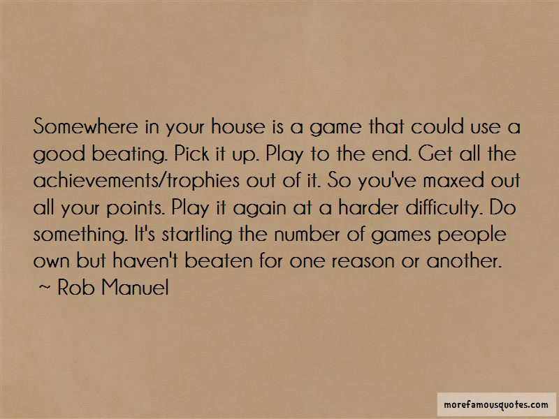 One Good Beating Quotes