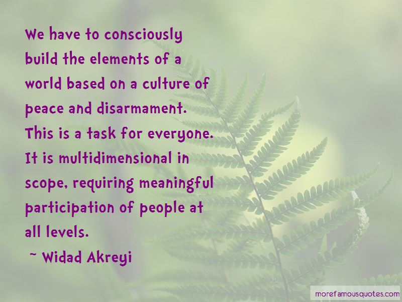 Peace And Disarmament Quotes