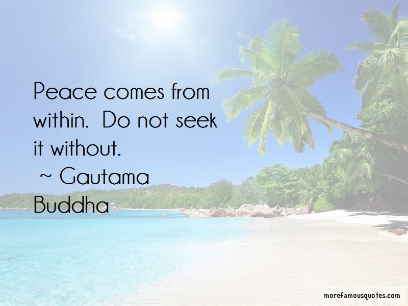 Peace Comes From Within Quotes Pictures 2