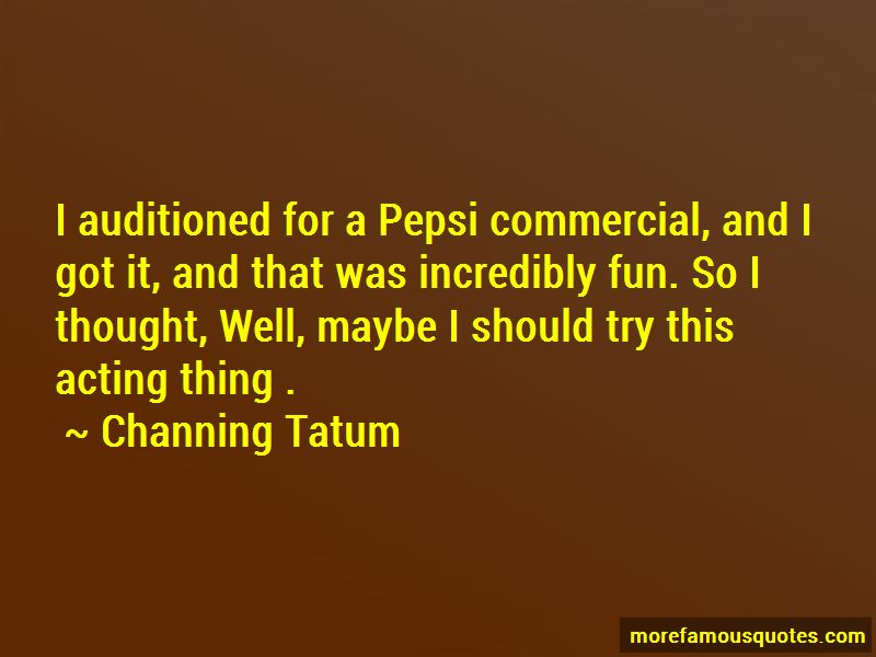 Pepsi Commercial Quotes Pictures 4