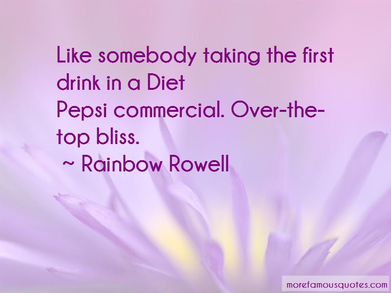 Pepsi Commercial Quotes