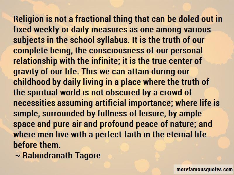 Perfect Faith Quotes