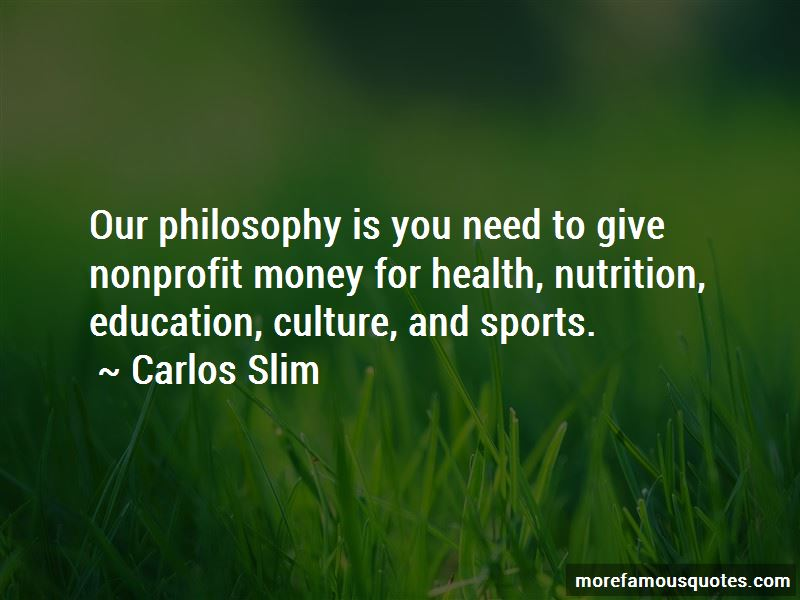 Philosophy About Money Quotes