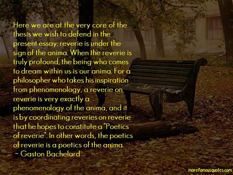 Poetics Of Reverie Quotes Pictures 2