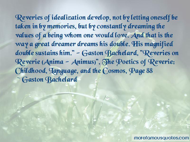 Poetics Of Reverie Quotes