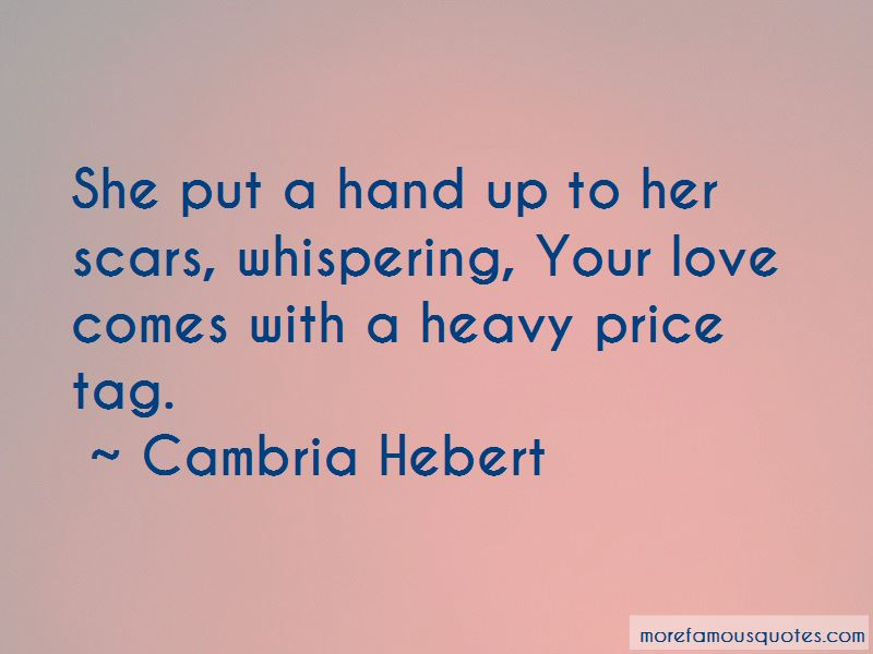 Price Tag Love Quotes