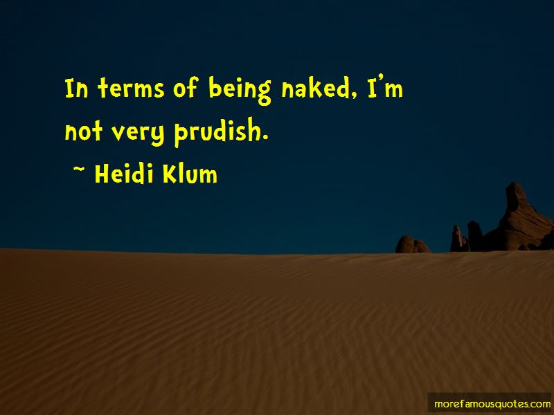 Prudish Quotes