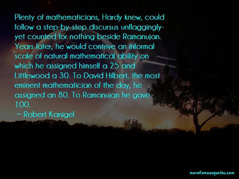 Ramanujan Mathematician Quotes Pictures 2