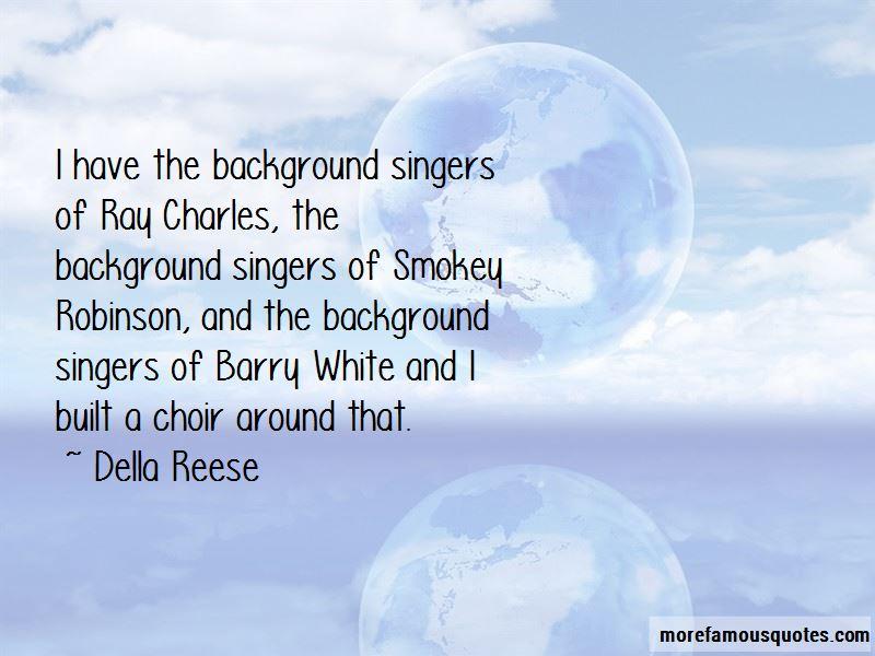 Ray Charles Robinson Quotes