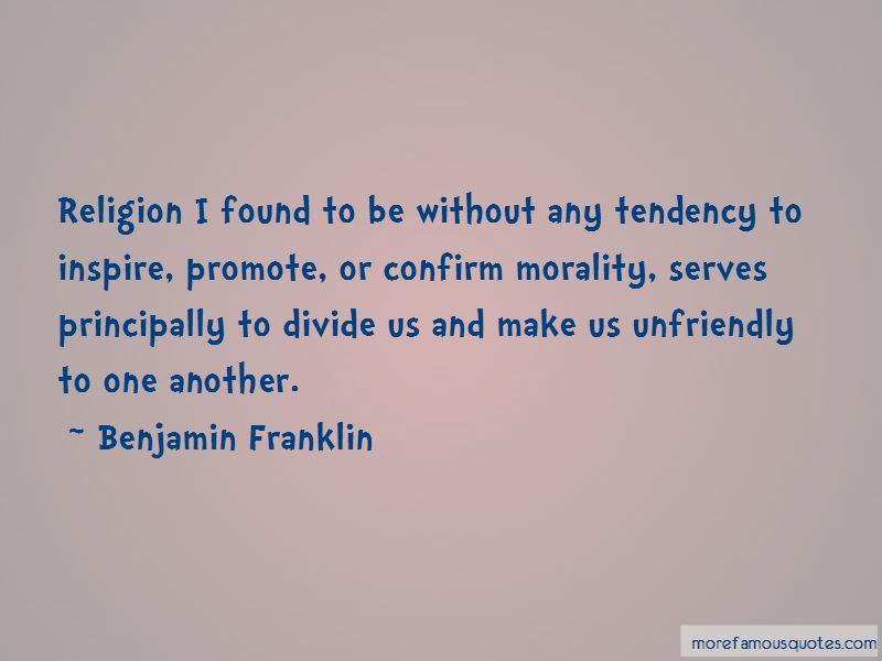 Religion Divide Quotes