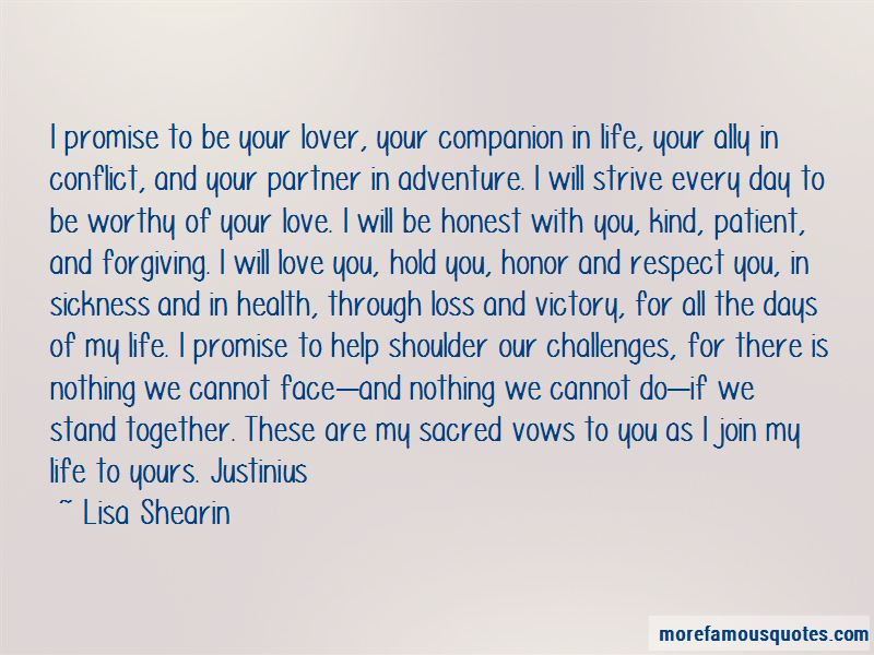 Respect Your Life Partner Quotes