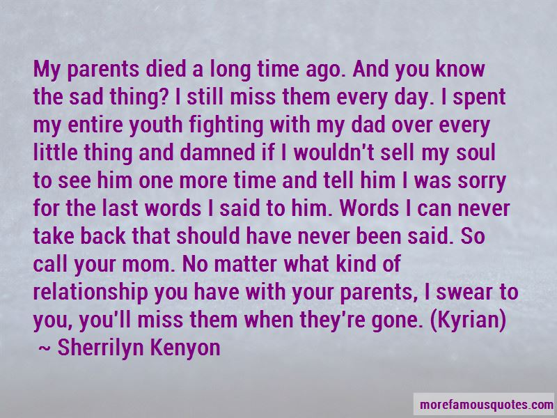Sad Miss You Mom Quotes