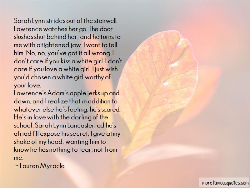 Sarah Lynn Quotes