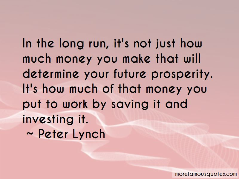 Saving Money For Future Quotes