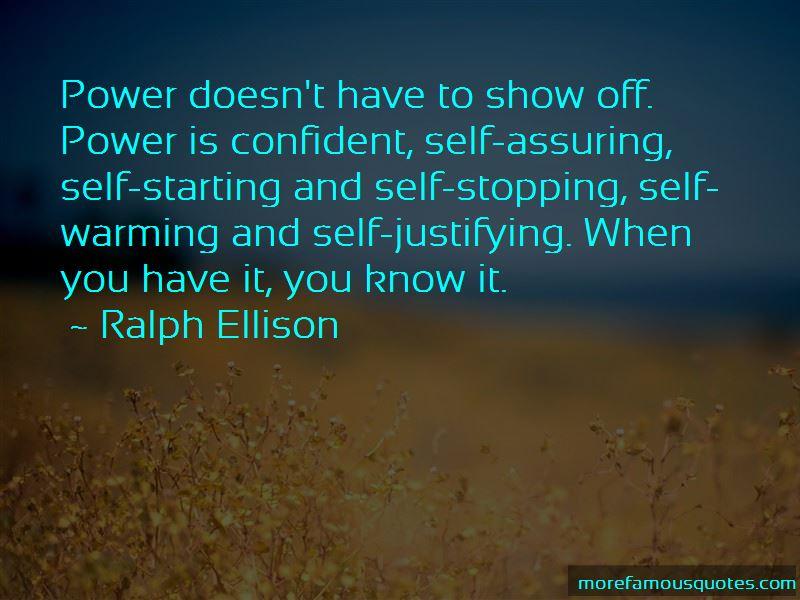 Self Assuring Quotes