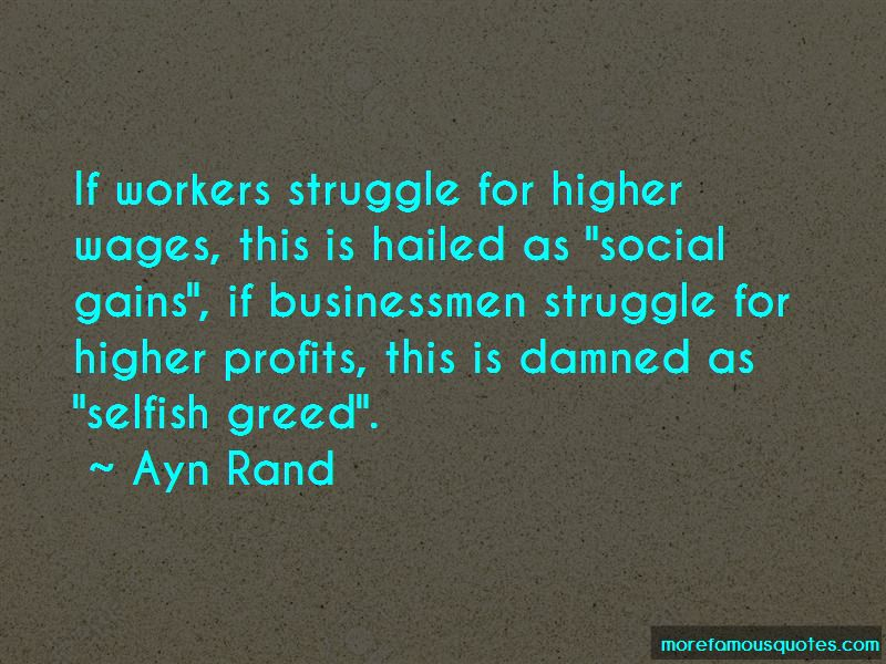 Selfish Greed Quotes Pictures 2