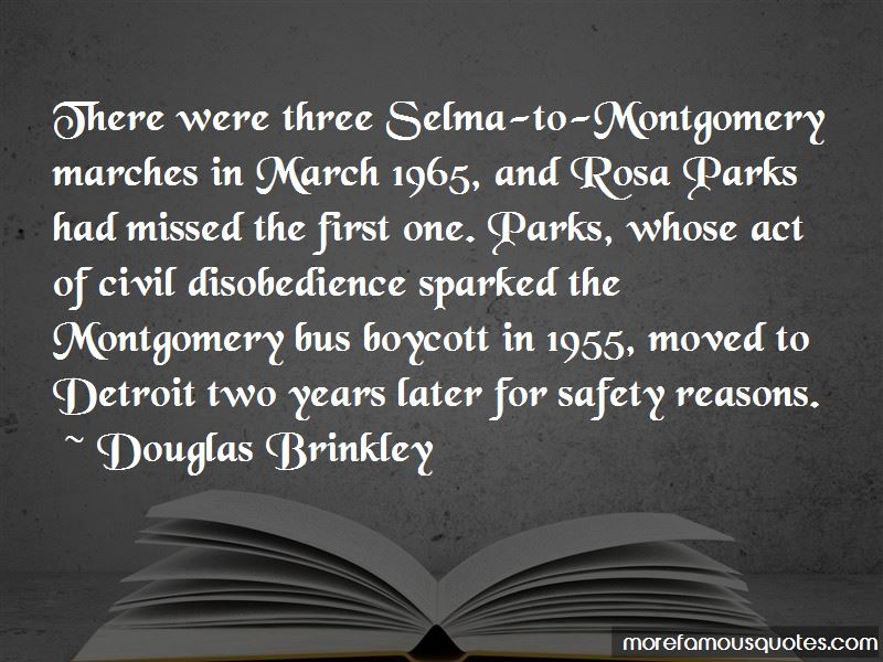 Selma To Montgomery March 1965 Quotes