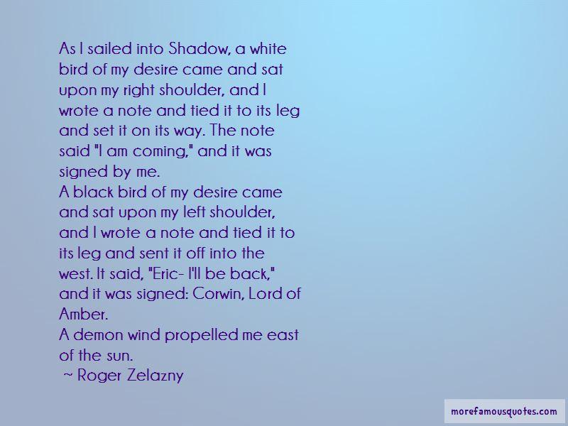 Shadow Demon Quotes