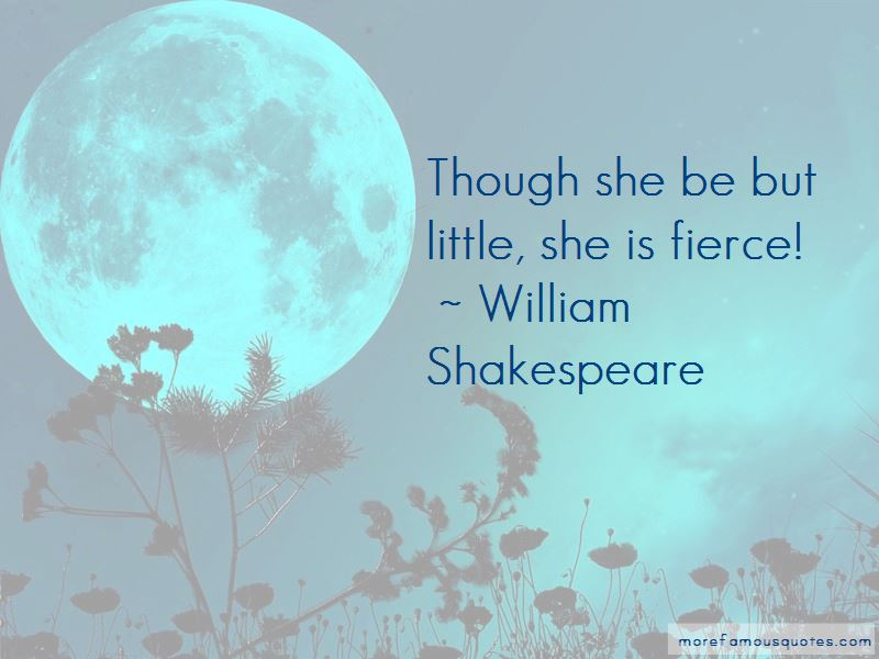 She Is Fierce Quotes