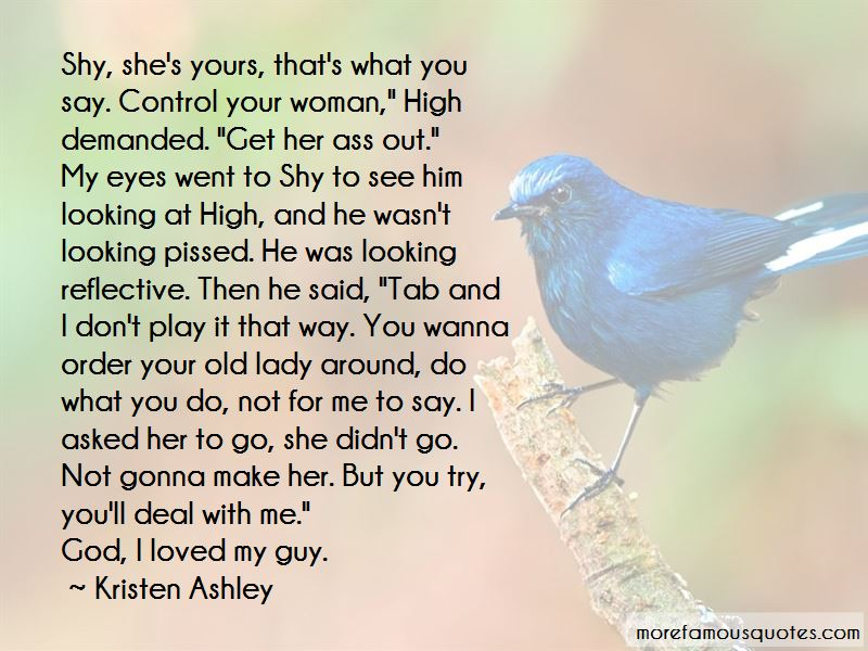 Shy Around You Quotes Pictures 3