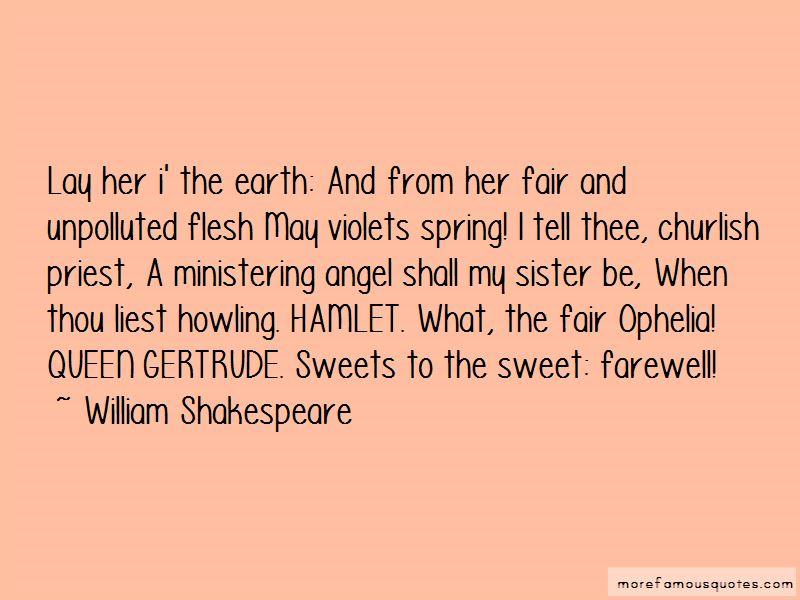 queen gertrude quotes