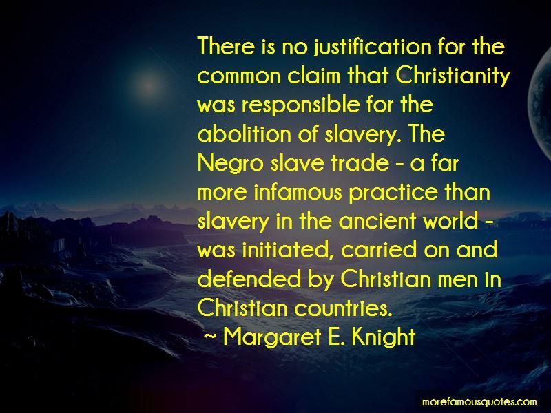 Slavery Justification Quotes
