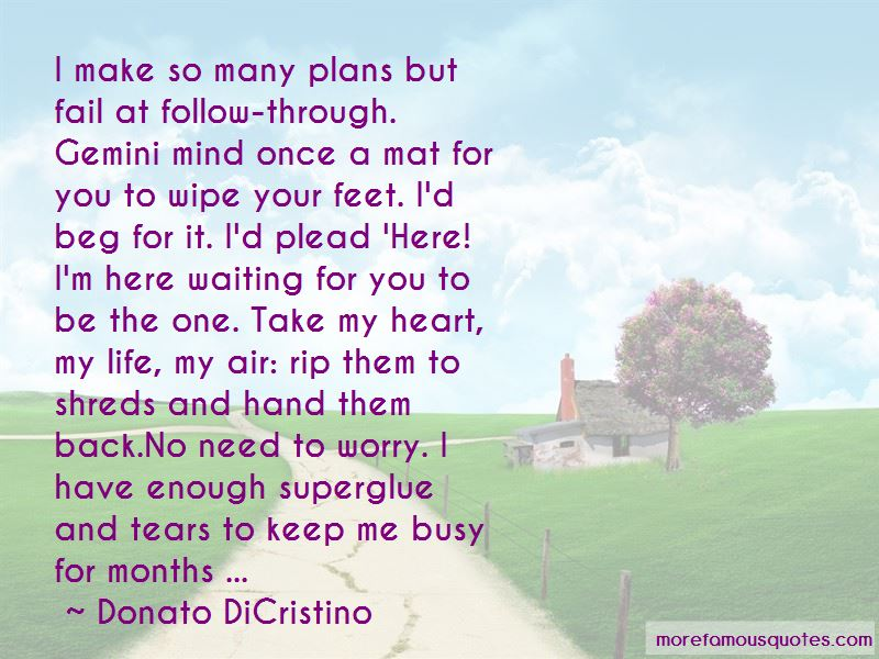 So Many Plans Quotes Pictures 3