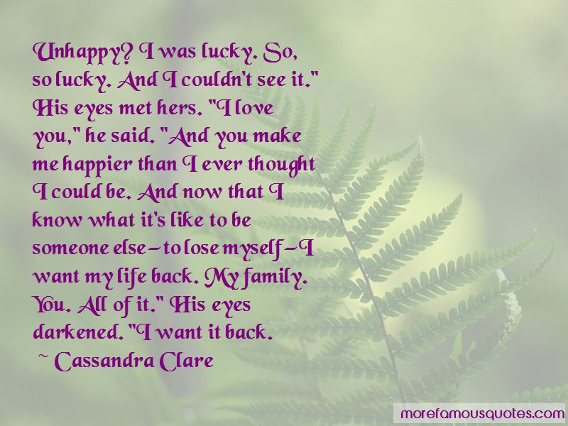 So Now You Want Me Back Quotes