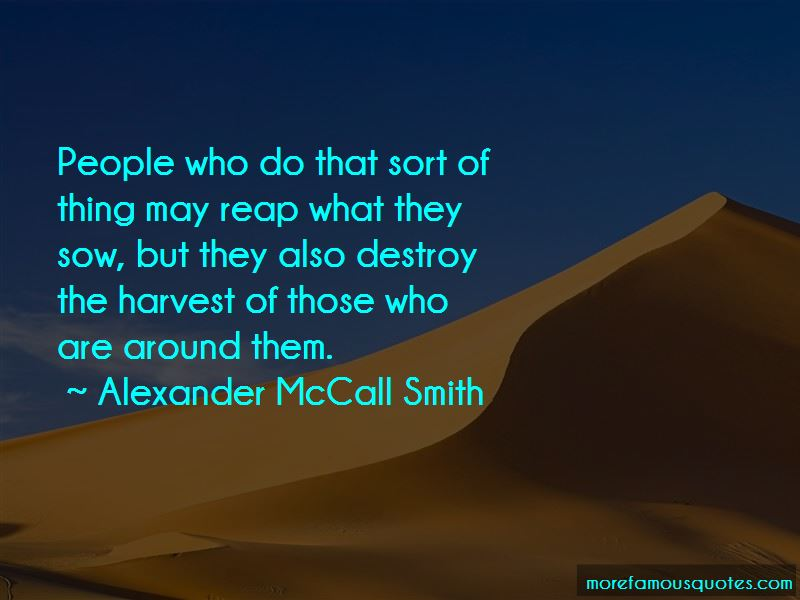 Sow Harvest Quotes Pictures 4