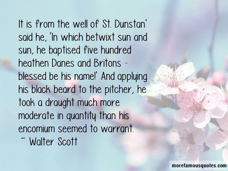 St Dunstan Quotes