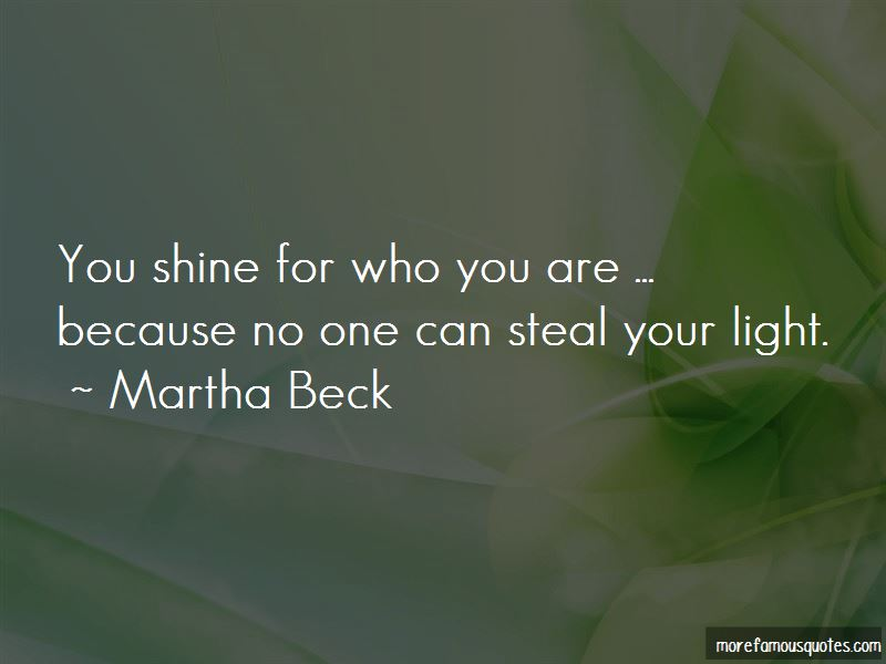 Steal Your Light Quotes