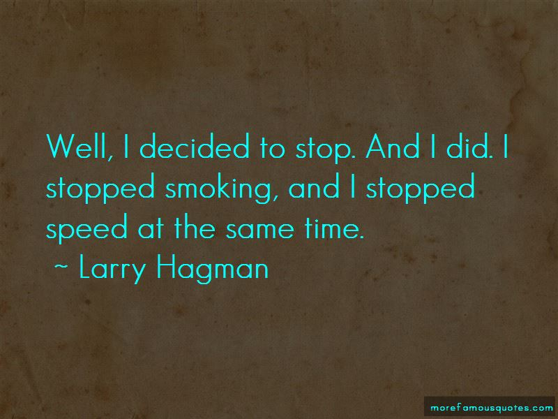 Stopped Smoking Quotes