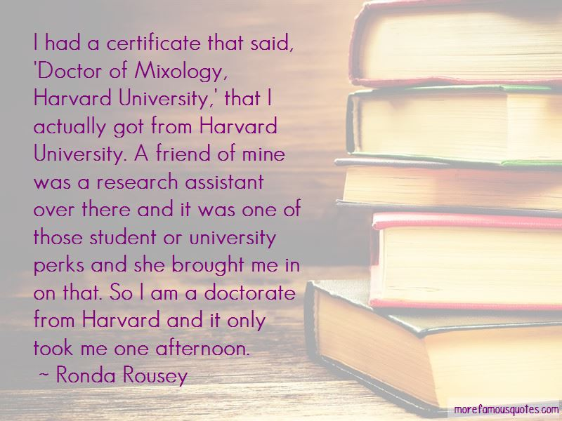 Student Certificate Quotes
