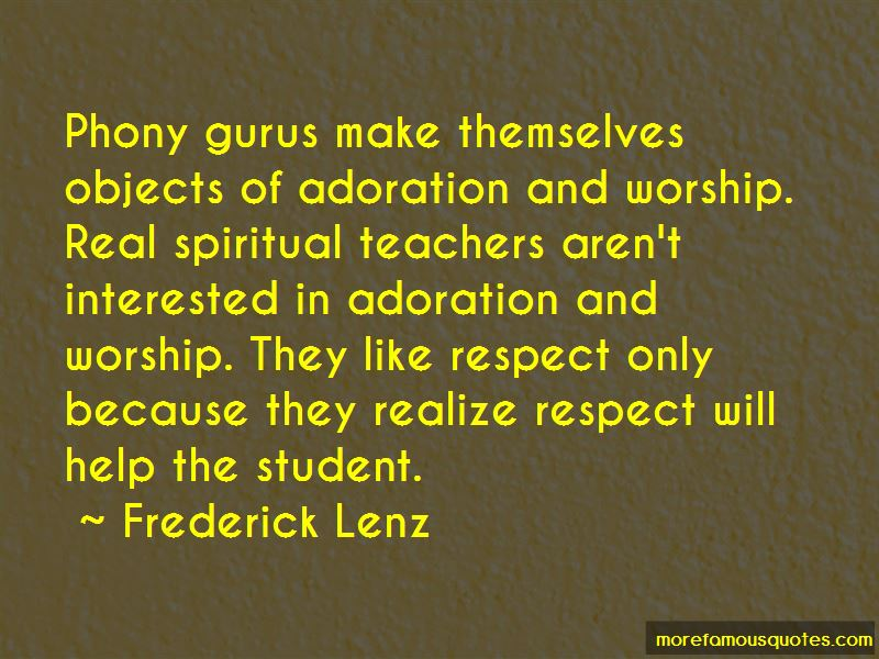 Student Respect For Teachers Quotes: Top 3 Quotes About