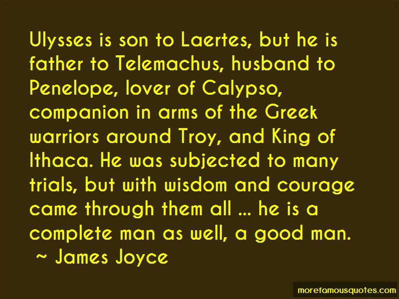Telemachus Courage Quotes